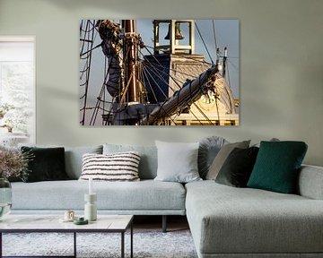 Hoog in de masten von Maurice van Miltenburg