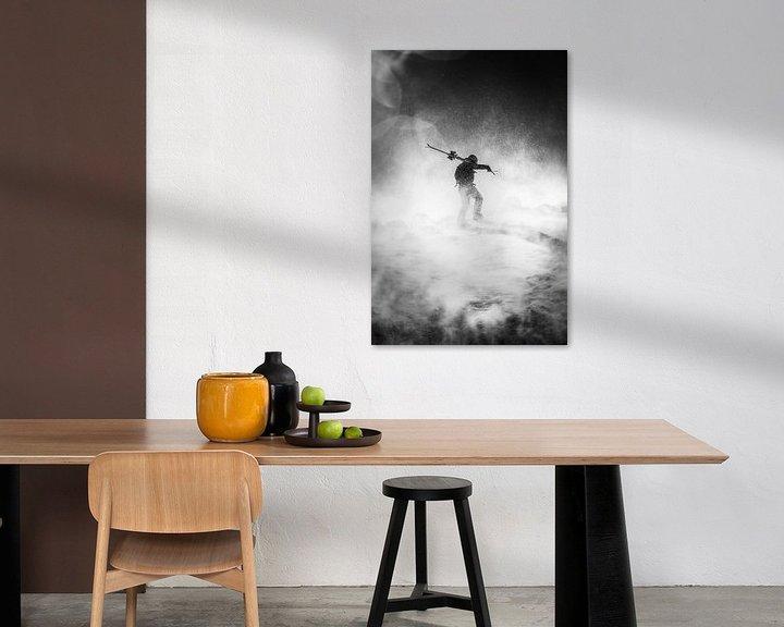 Impression: Silhouette sur Jarno Schurgers