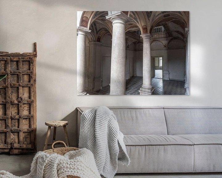Beispiel: Pilaren in kasteel von Fatima Maria Mernisi