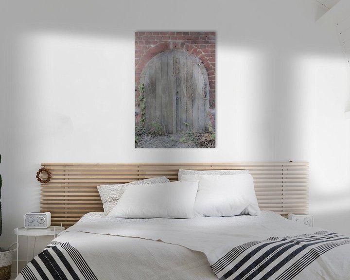 Sfeerimpressie: Kelderdeur van Fatima Maria Mernisi