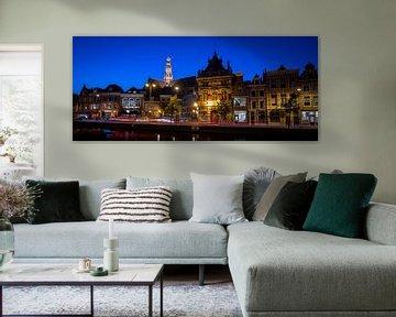 stadsgezicht Haarlem met de grote kerk