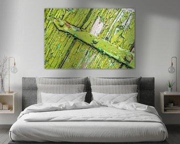 groene scharnier van Willem Visser