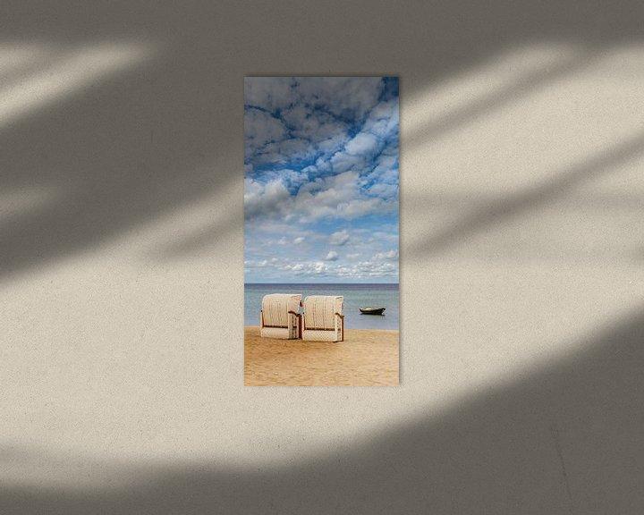 Beispiel: SIERKSDORF Idyllischer Blick auf die Ostsee von Melanie Viola