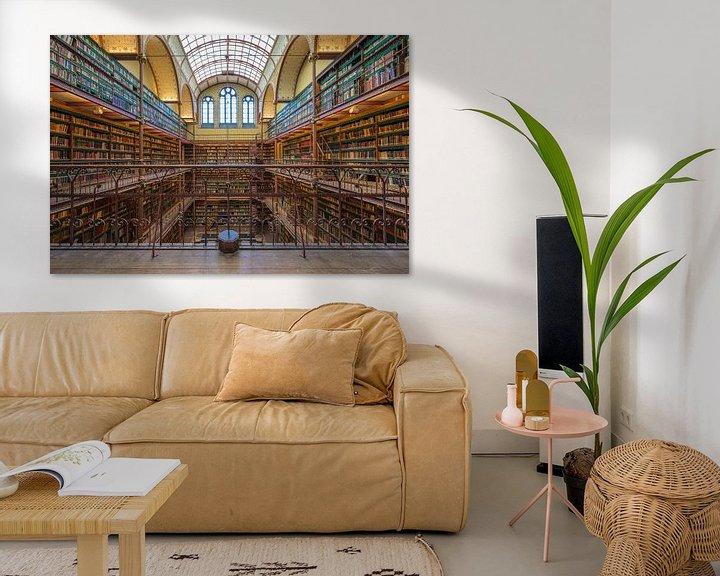 Sfeerimpressie: Bibliotheek Rijksmuseum Amsterdam van Foto Amsterdam/ Peter Bartelings