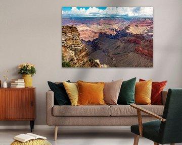 Mooi rood Grand Canyon