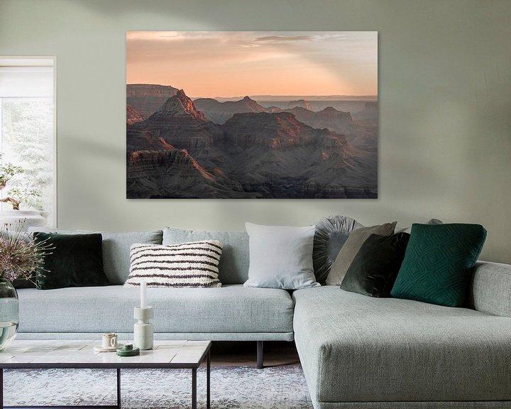 Sfeerimpressie: Grand Canyon - Het eerste licht van Remco Bosshard