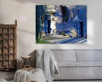 La maison aux volets bleus van Jon Houkes