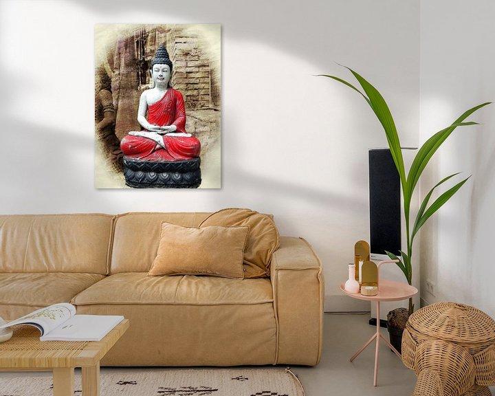 Sfeerimpressie: Buddha van Eduard Lamping