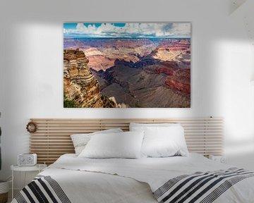 Rode diepte - Grand Canyon van Remco Bosshard