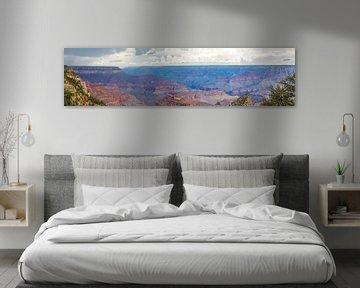 Grand Panorama - Grand Canyon van Remco Bosshard