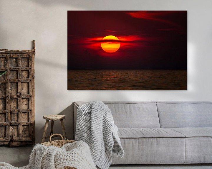 Beispiel: Sonnenuntergang am Meer von Manfred Schmierl