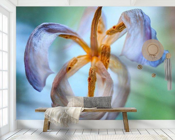 Sfeerimpressie behang: Vliegende Tulp van Jan de Vries