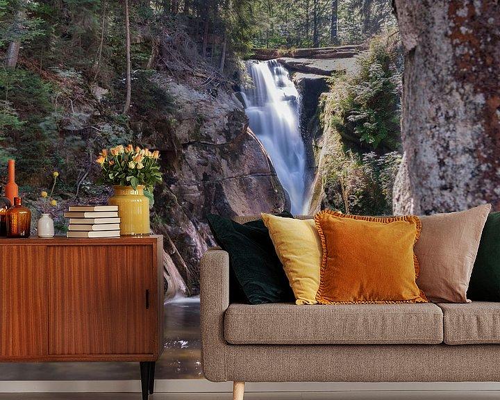 Sfeerimpressie behang: Waterval van Peter Mensink