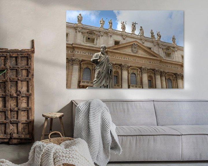 Beispiel: Petrus Vatikanstadt Rom von Berg Photostore