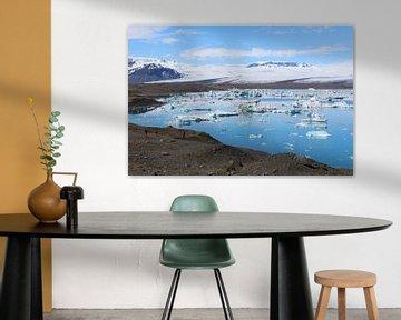 Jökulsárlón gletsjermeer IJsland van Berg Photostore