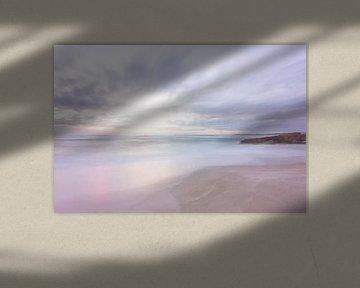 Pastel zonsondergang van Studio voor Beeld
