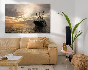 Vissersschip TX42 van Johannes Stouten