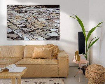 Zoutmijn Peru van Berg Photostore