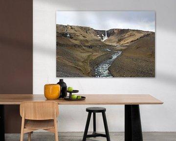 Litlanesfoss IJsland van Berg Photostore