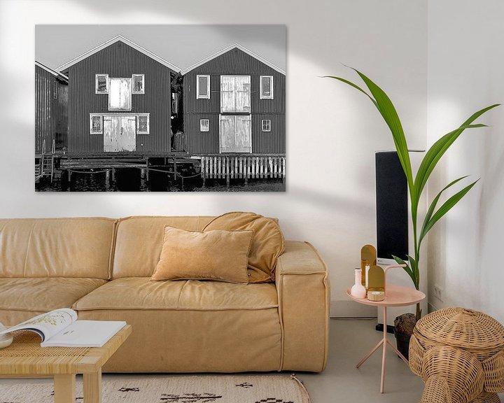 Beispiel: Hölzerne Ferienhäuser in Schweden von Mieneke Andeweg-van Rijn