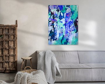 Modern, Abstract Digitaal Kunstwerk - I Won't Question Tomorrow van Art By Dominic
