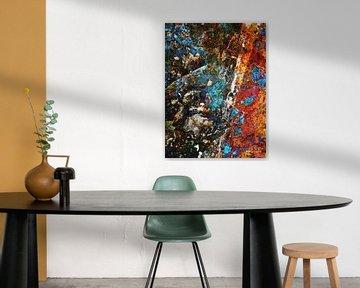 Modern, Abstract Digitaal Kunstwerk – No Fear Of Getting Lost van Art By Dominic