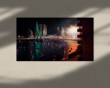 Rotterdam vuurwerk van Jasper Verolme