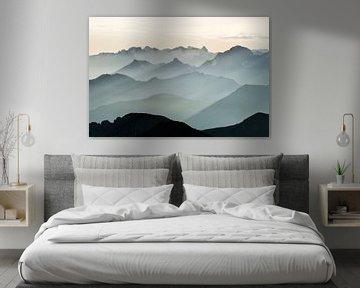 De Zwitserse bergen van Claire Droppert