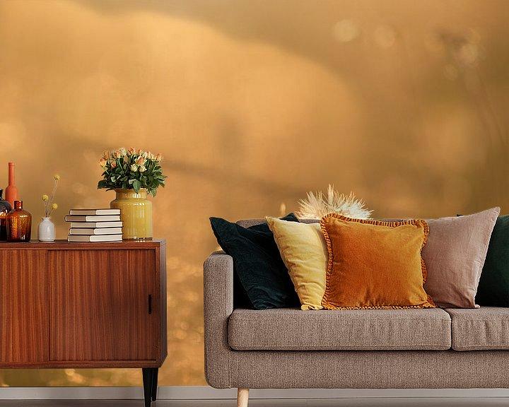 Sfeerimpressie behang: Zomerwarmte van Rudy De Maeyer