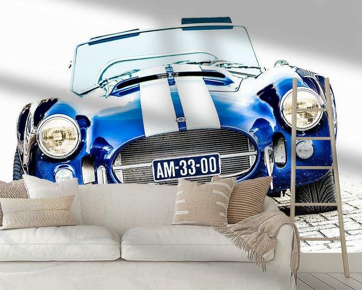 Sfeerimpressie behang: Shelby Cobra van marco de Jonge