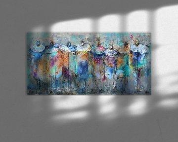 Masai People von Atelier Paint-Ing