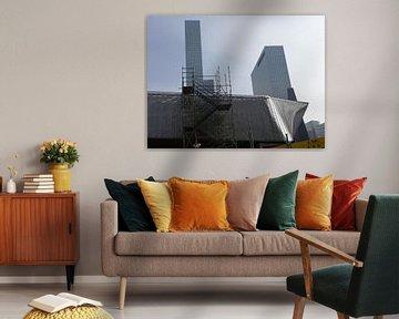 Rotterdam CS - Under Construction 3 von MoArt (Maurice Heuts)