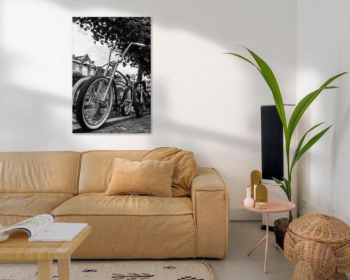 Sfeerimpressie: Is het een fiets of een motorfiets? :-) van Marlous en Stefan P.