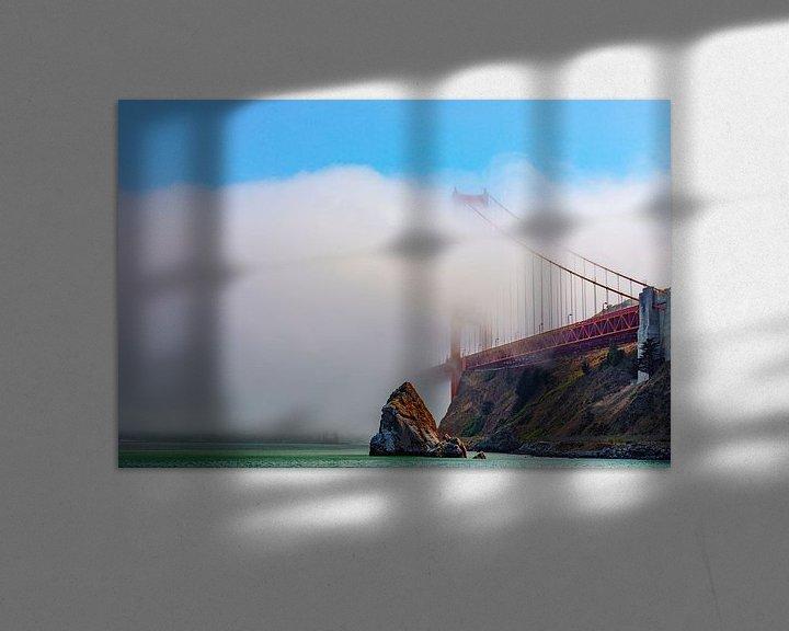 Sfeerimpressie: Golden Gate Mist van Remco Bosshard