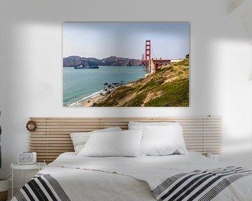 Wie is de Mol? Golden Gate Bridge - San Francisco van Remco Bosshard
