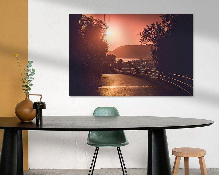 Sfeerimpressie: Zonsondergang in Alanya van Ratna Bosch