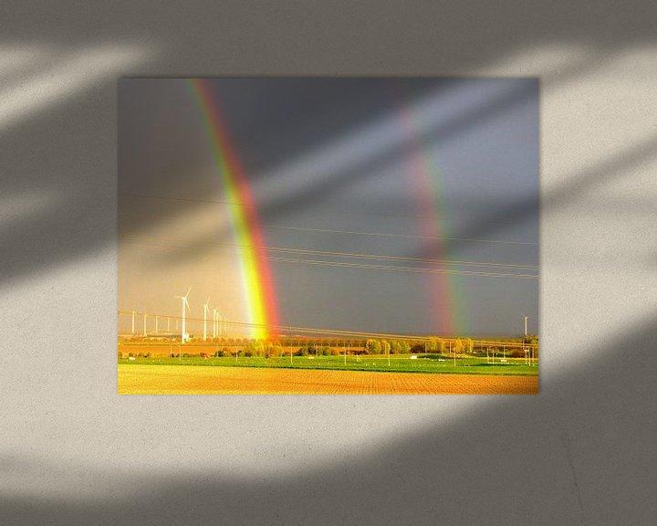 Sfeerimpressie: Rainbow Beauty van Nicky`s Prints