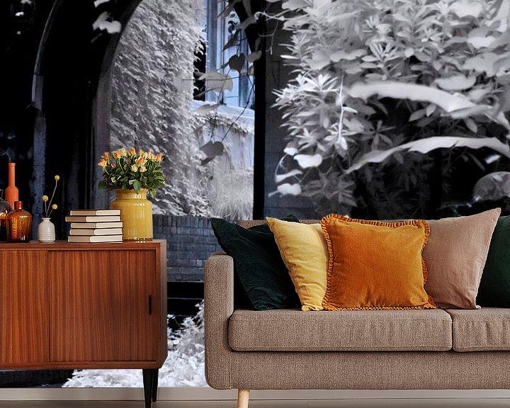 Beispiel fototapete: St Dunstans In The East - Winter von Helga Novelli
