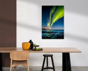 Polarlicht in Norwegen von Sascha Kilmer