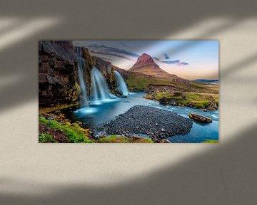 Cascade sur l'Islande sur Sascha Kilmer