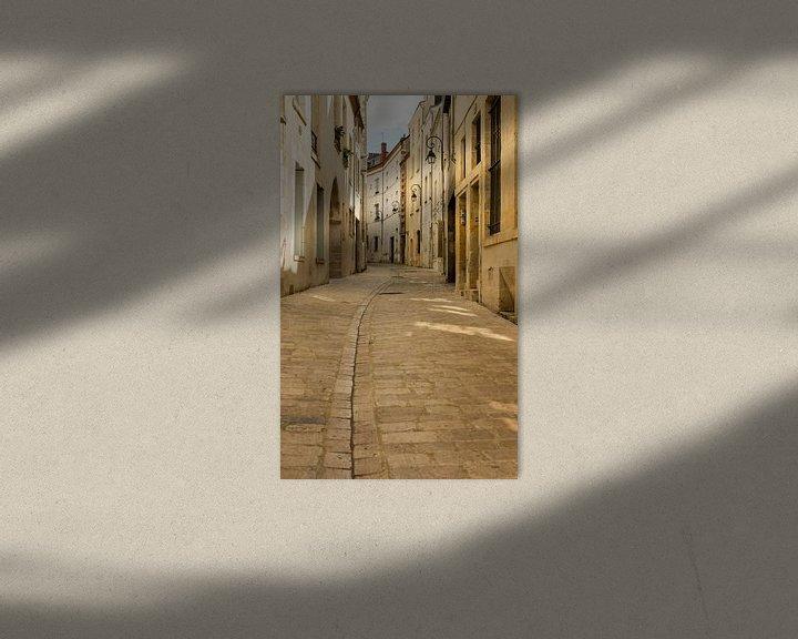 Beispiel: Gebogene Strasse in Orleans von Daan Kloeg