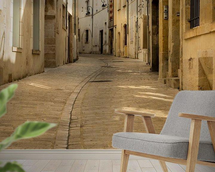 Beispiel fototapete: Gebogene Strasse in Orleans von Daan Kloeg