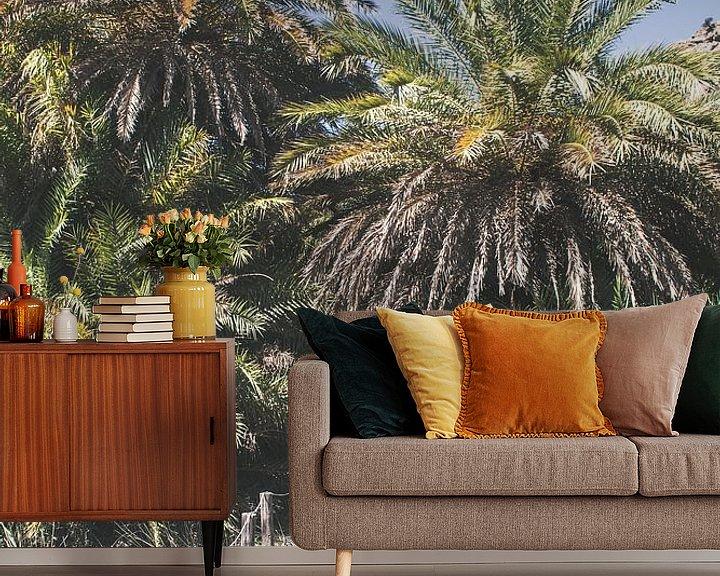 Sfeerimpressie behang: Wandelpad naar het Palmbos van Rob van Dongen