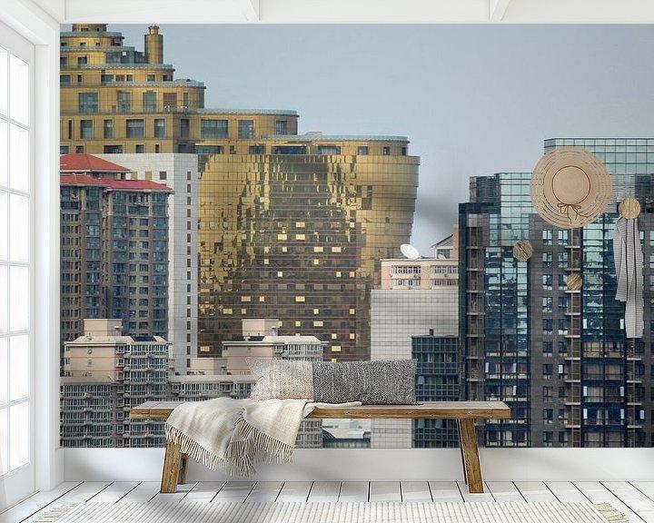 Beispiel fototapete: Moderne Architektur in Beijing China von Ingrid Meuleman