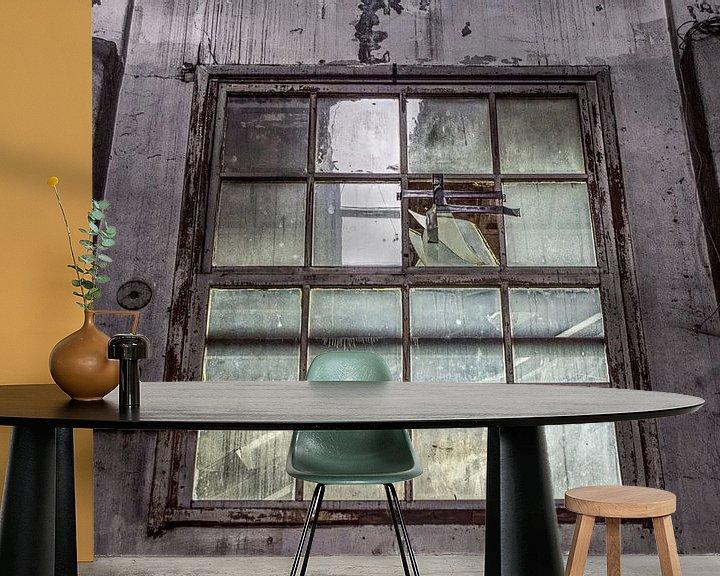 Beispiel fototapete: Urbex Fenster von BDG pics