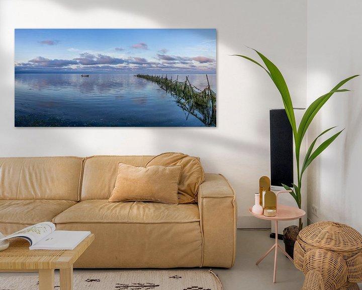"""Sfeerimpressie: Texel Wad - zeegezicht - """"Lonneke"""" - blauwe uurtje van Texel360Fotografie Richard Heerschap"""