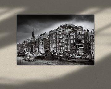 Amsterdam in Schwarz und Weiß von Hamperium Photography