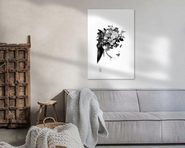 Impression: Floral I sur Dreamy Faces
