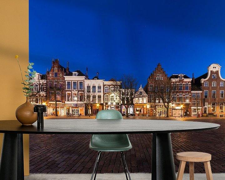 Sfeerimpressie behang: Hollandse Gevels van Frenk Volt
