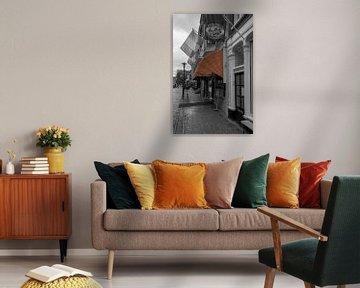 Akerstraat Groningen van Peter Bartelings Photography